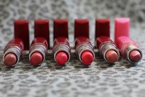 Rosa Lipstick Colorful Labios Woman Mouth Makeup
